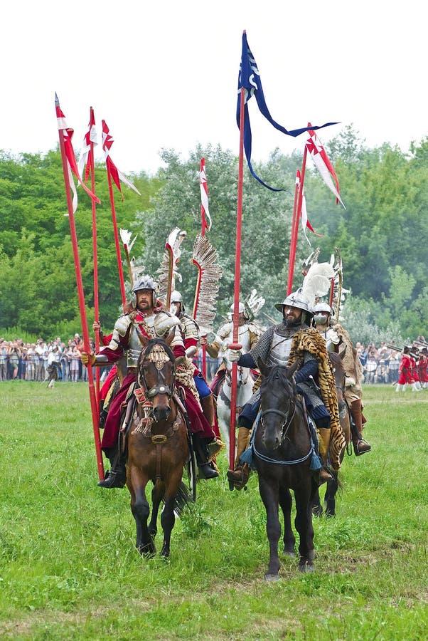 Cavalaria polonesa imagens de stock royalty free