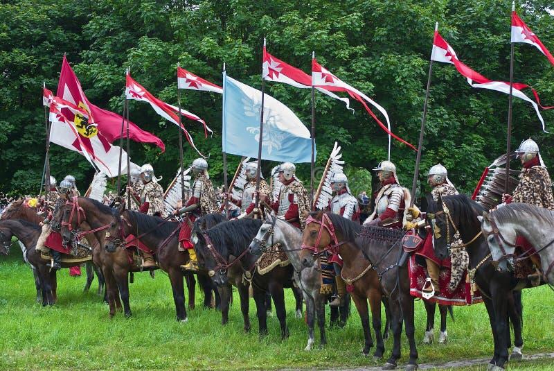 Cavalaria polonesa foto de stock royalty free