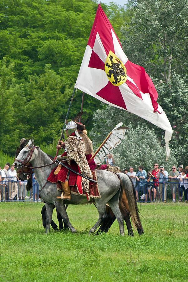 Cavalaria polonesa fotografia de stock