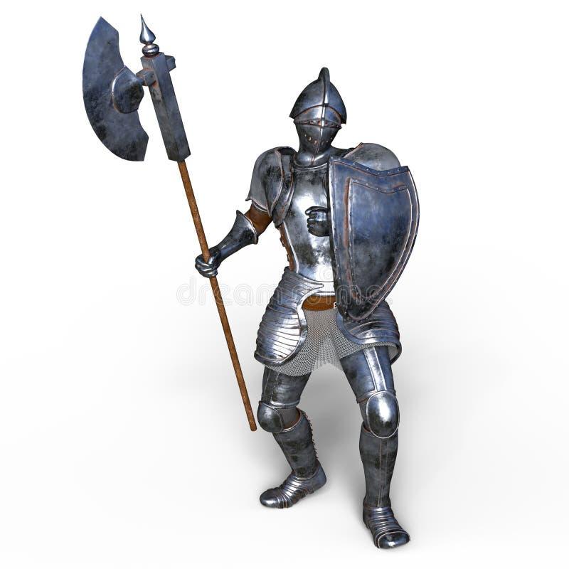 Cavaleiro ilustração do vetor