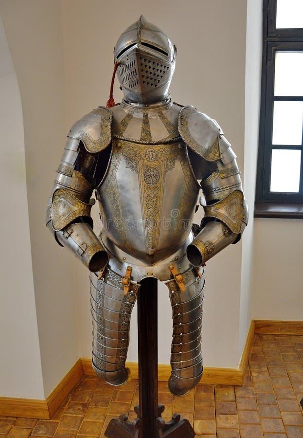 Cavaleiro Armour Set fotografia de stock