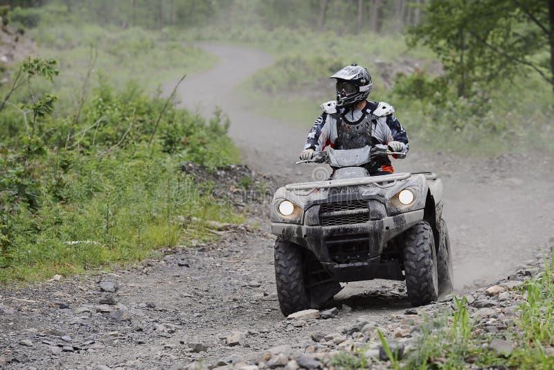 Cavaleiro da fuga de ATV fotos de stock royalty free