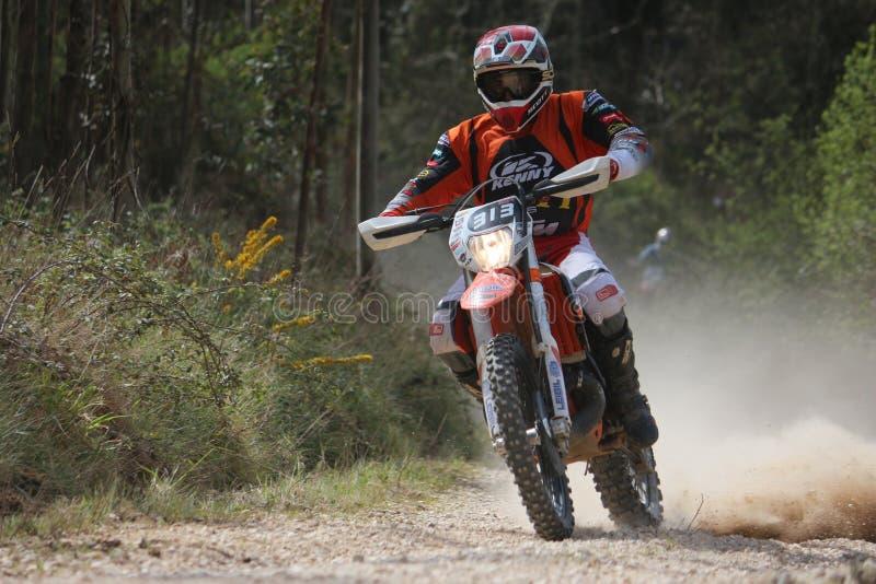 Cavaleiro do motocross imagens de stock