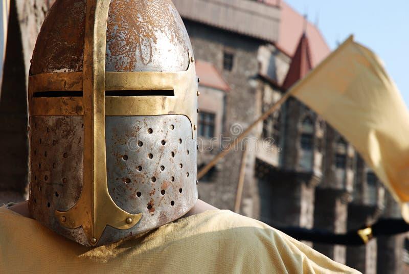 Cavaleiro medieval fotografia de stock royalty free