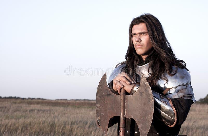 Cavaleiro medieval imagens de stock