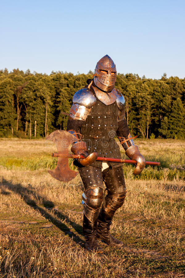 Cavaleiro medieval imagens de stock royalty free