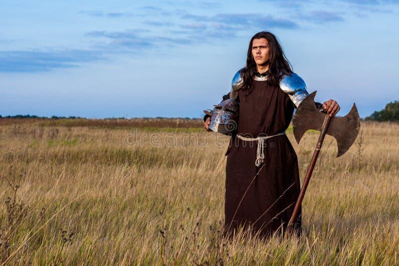 Cavaleiro medieval imagem de stock royalty free