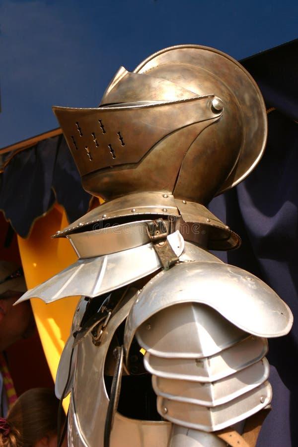 Cavaleiro na armadura imagem de stock