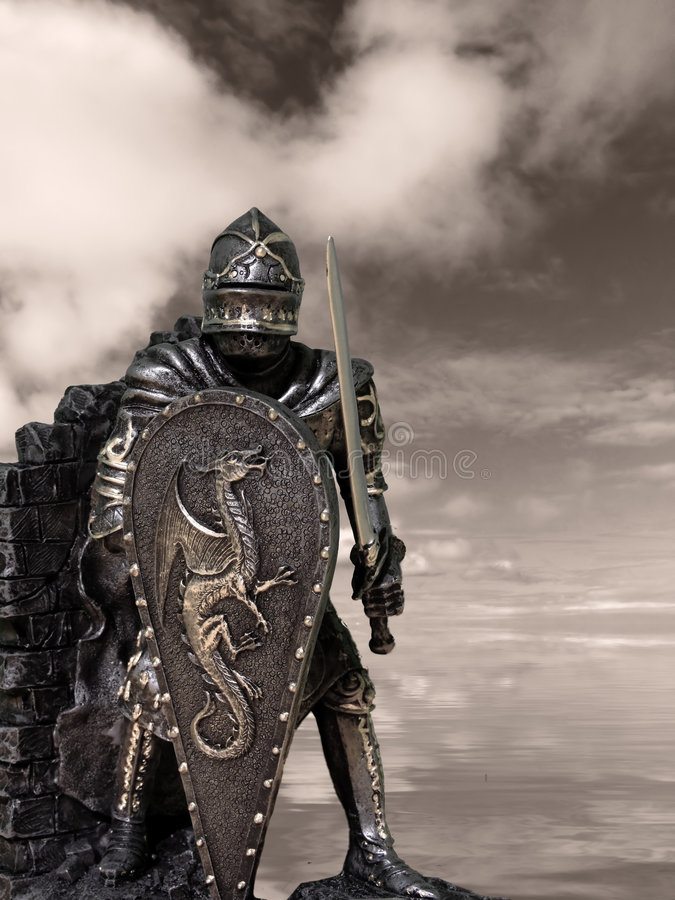 Cavaleiros & armadura fotos de stock royalty free