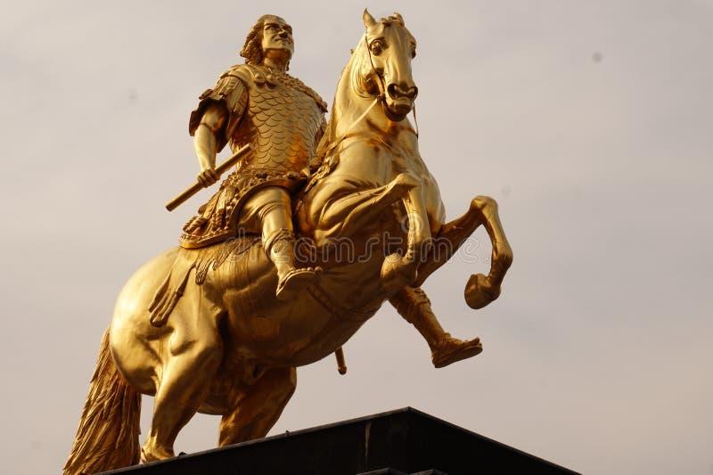 Cavaleiros dourados Dresden, Alemanha imagem de stock royalty free