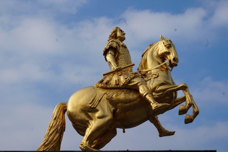 Cavaleiros dourados Dresden, Alemanha imagem de stock