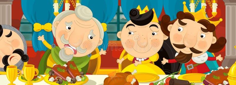 Download Cavaleiros Medievais Dos Desenhos Animados Pela Tabela - Para Contos De Fadas Diferentes Ilustração Stock - Ilustração de jantar, fundo: 65575688