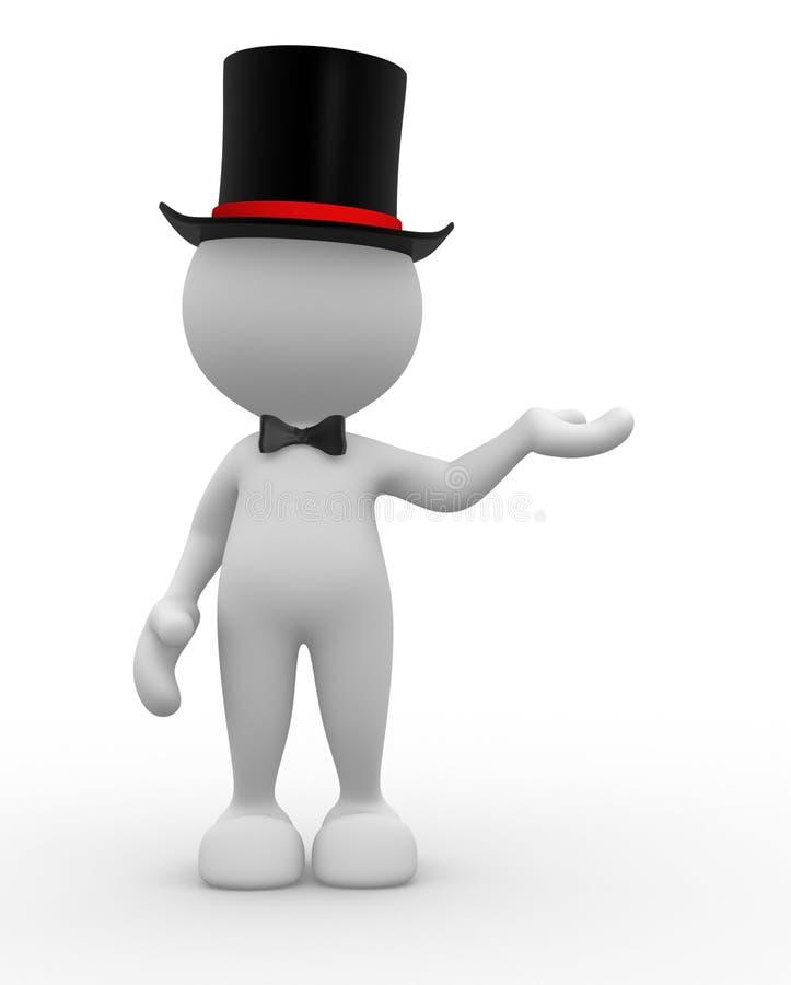 Cavalheiro ilustração stock