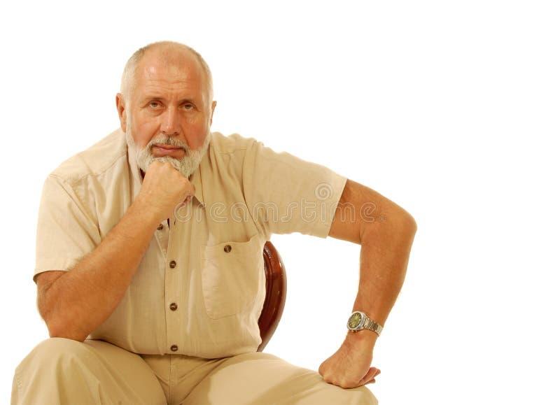 Cavalheiro mais idoso fotos de stock