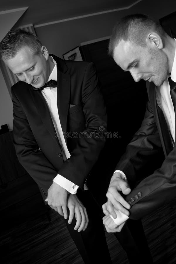 Cavalheiros foto de stock royalty free