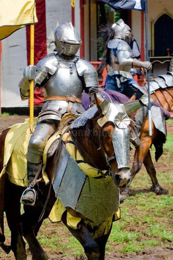 Cavaliere alla rinascita giusta fotografie stock libere da diritti