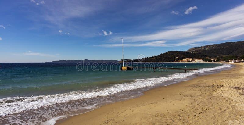 Cavaliere beach stock images