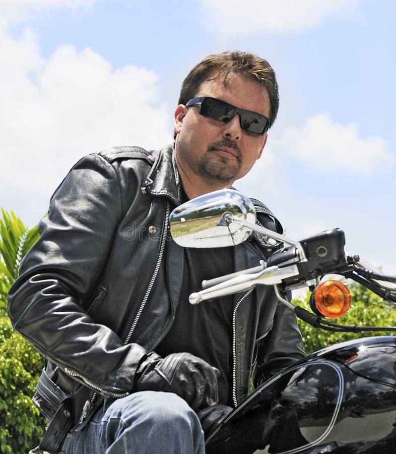 Cavaliere della bici fotografie stock libere da diritti