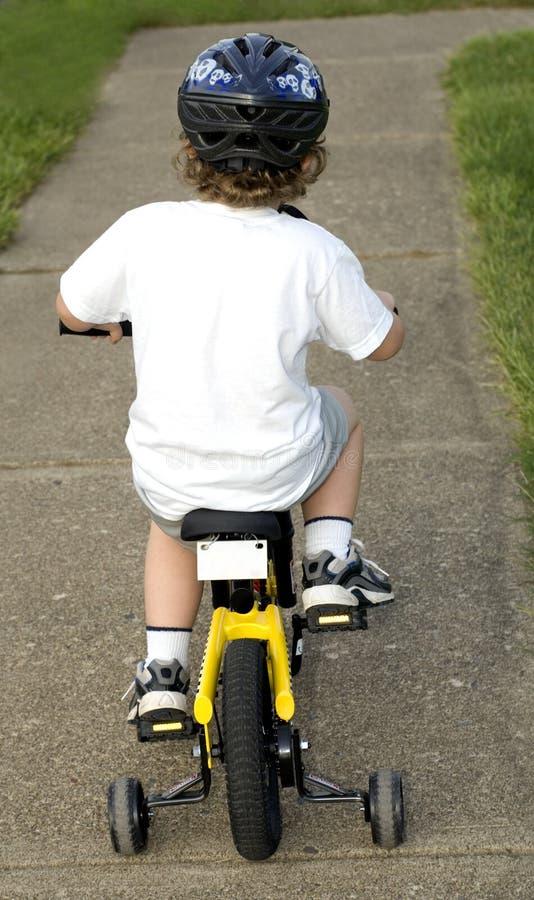 Cavaliere della bicicletta immagini stock libere da diritti