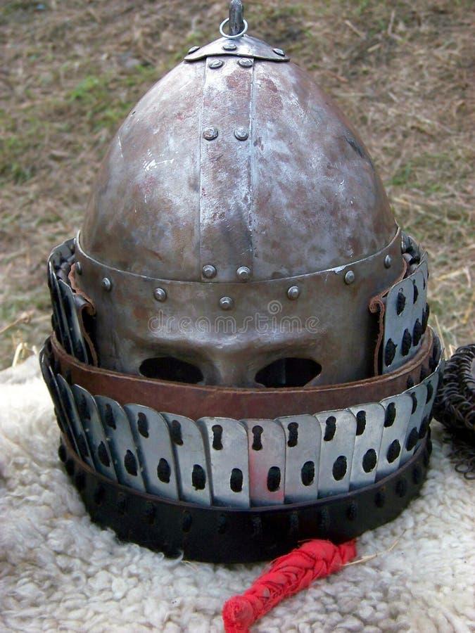 Cavaliere Helmet fotografia stock