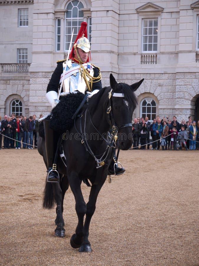 Cavalleria della famiglia alla parata delle protezioni di cavallo