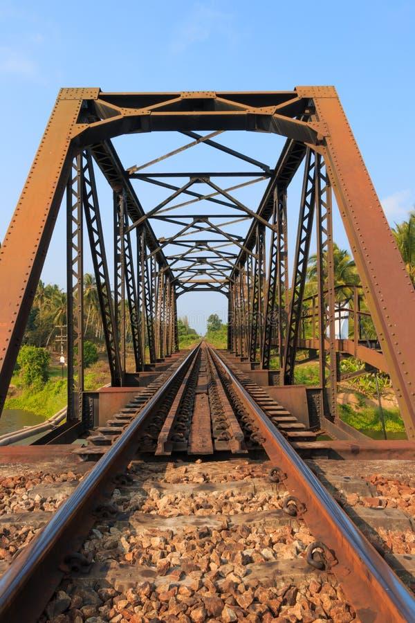 Cavalletto della ferrovia fotografie stock