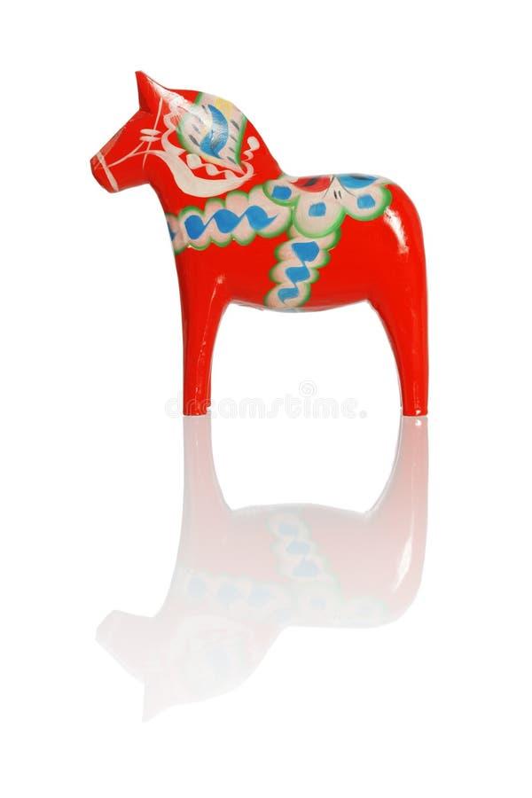 Cavallo di Dalecarlian fotografie stock