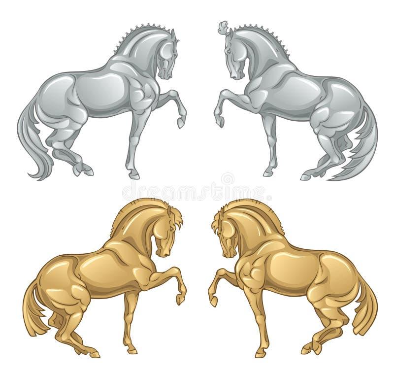 Cavallo di ferro royalty illustrazione gratis