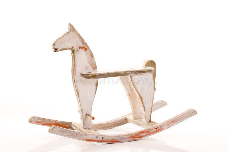 Cavallo a dondolo immagini stock