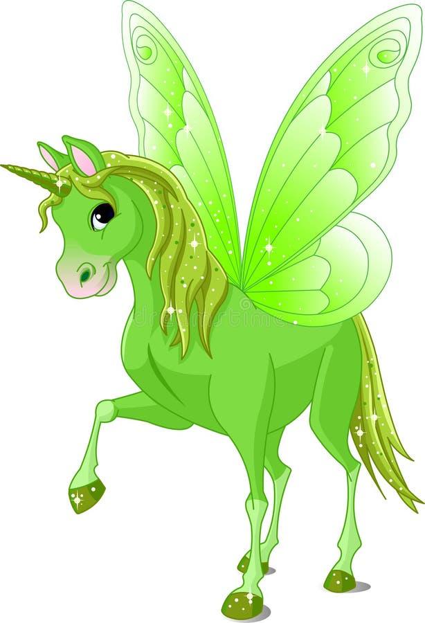 Cavallo leggiadramente della coda illustrazione di stock