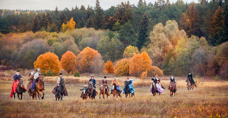 Cavalo-caça fotos de stock royalty free