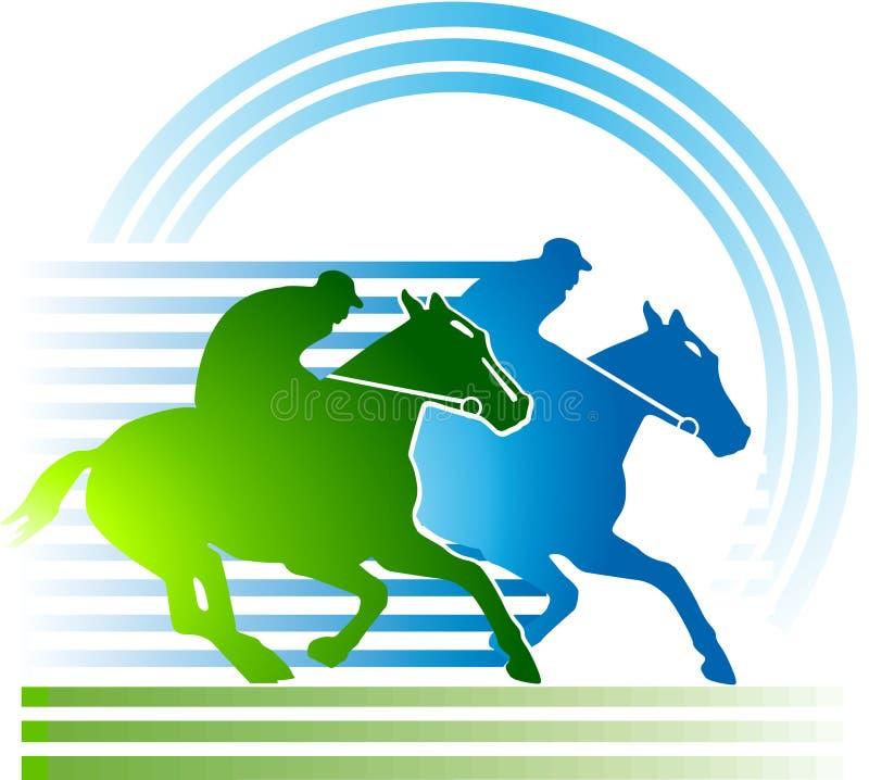 Cavalo-competência ilustração stock