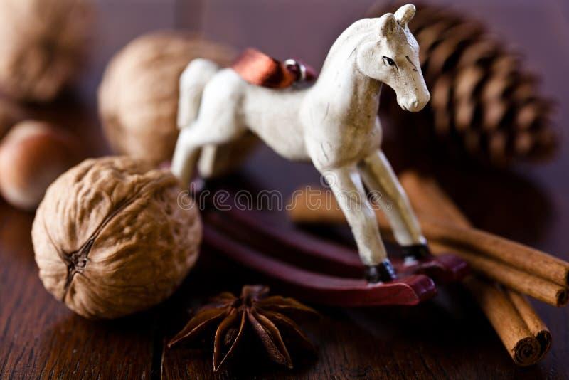 Cavalo de balanço imagens de stock royalty free
