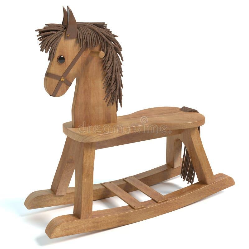 Cavalo de balanço ilustração stock