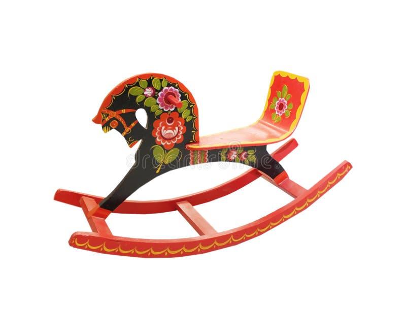 Cavalo de balanço do russo imagens de stock