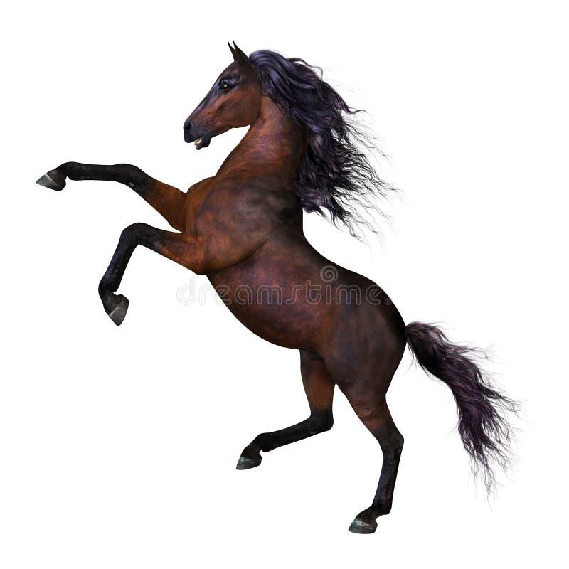 Cavalo de elevação bonito ilustração royalty free