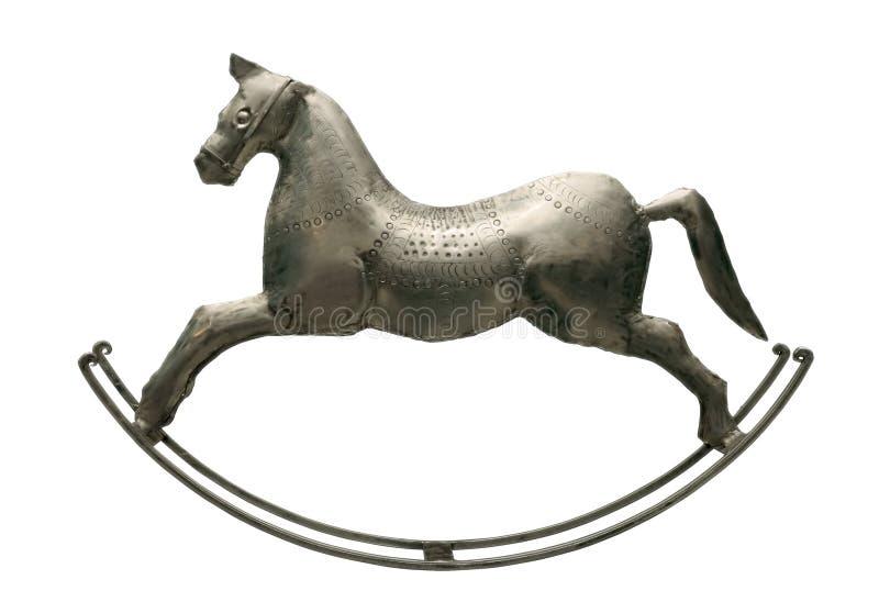Cavalo de prata foto de stock