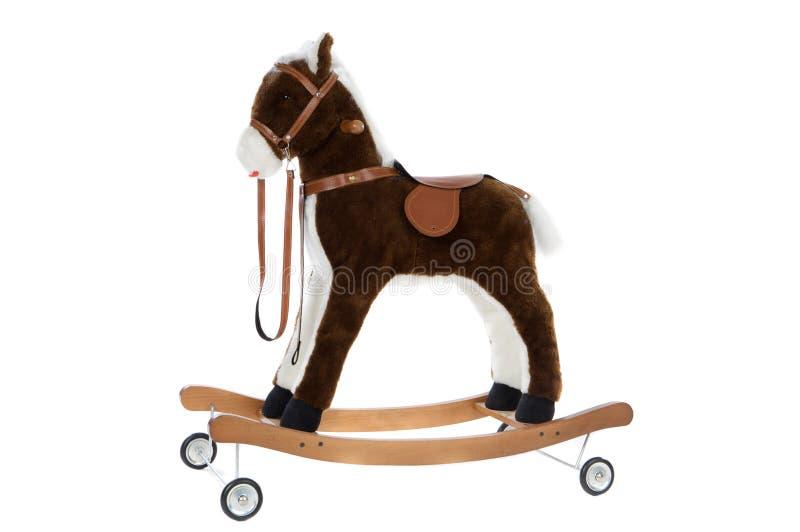 Cavalo do brinquedo fotografia de stock royalty free