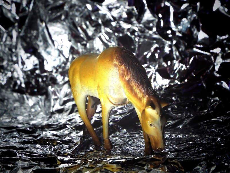 Cavalo do brinquedo imagem de stock royalty free