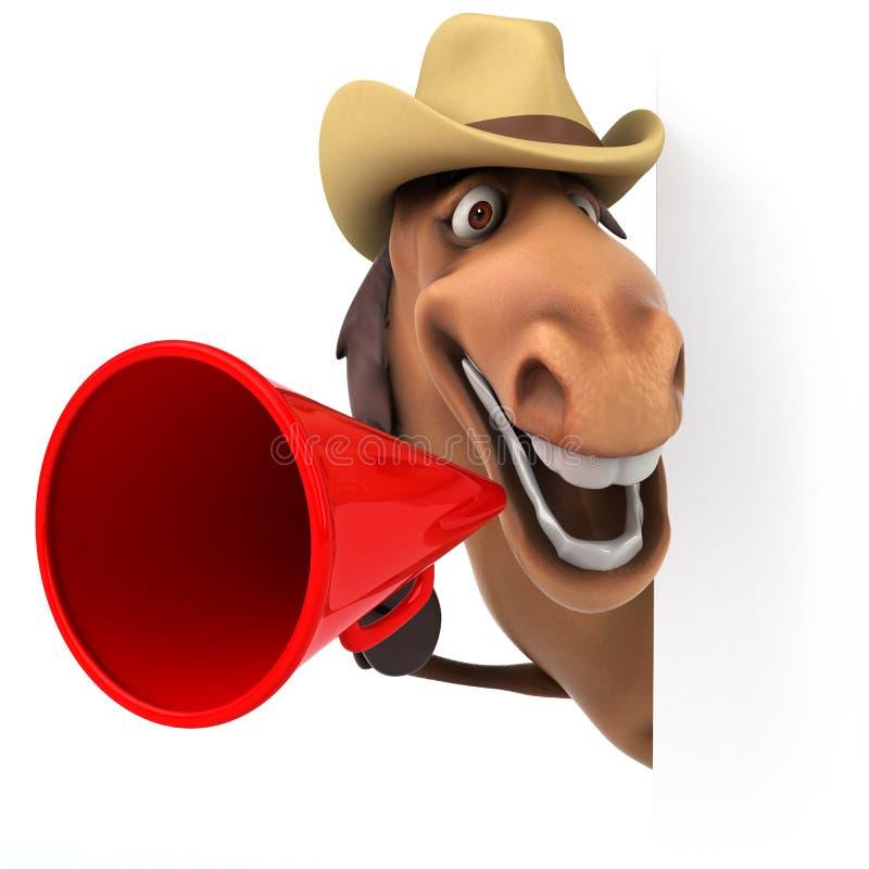Cavalo do divertimento ilustração royalty free