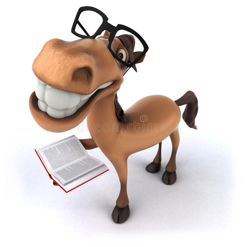 Cavalo do divertimento ilustração stock