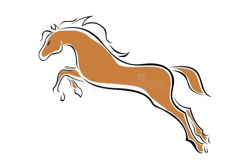 Cavalo do vetor ilustração do vetor