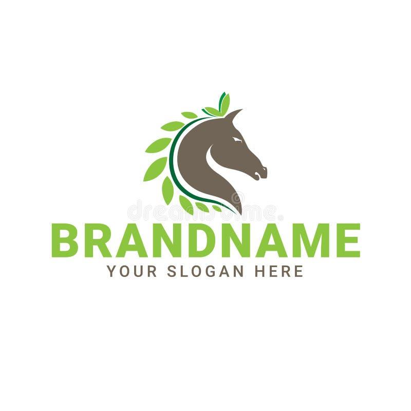 Cavalo Logo Icon ilustração royalty free