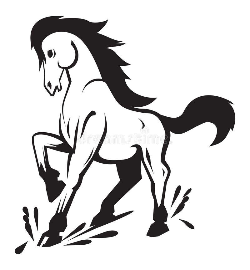 Cavalo poderoso fotos de stock
