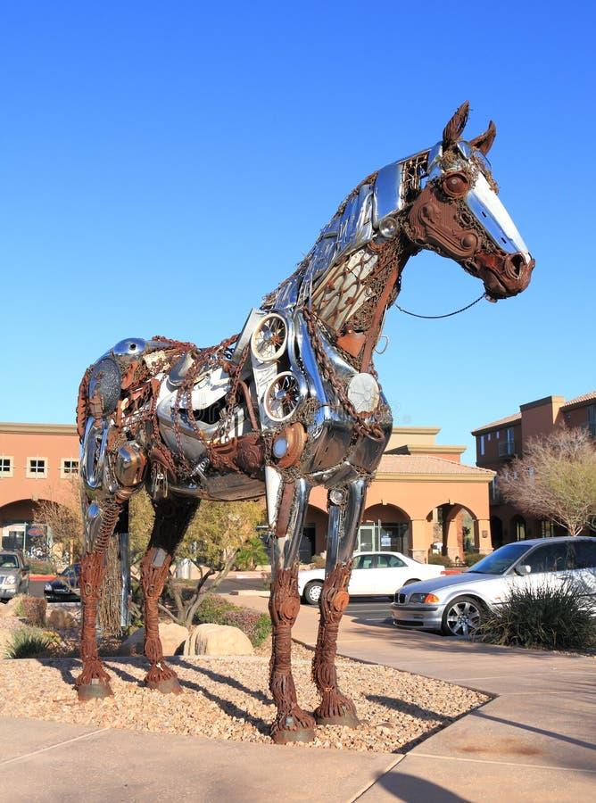 Cavalo recicl foto de stock royalty free