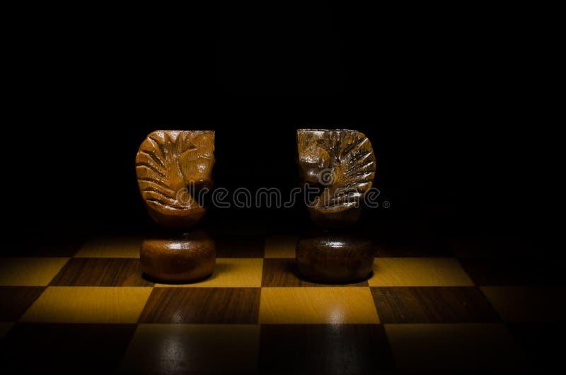 Download Cavalos no jogo de xadrez foto de stock. Imagem de cavalo - 26507790