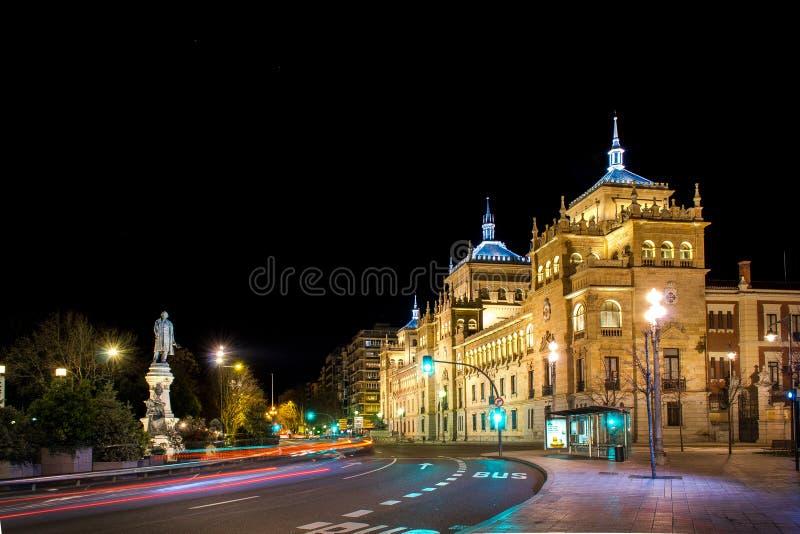 Cavalry Academy in Valladolid. Academia de Caballeria royalty free stock photography