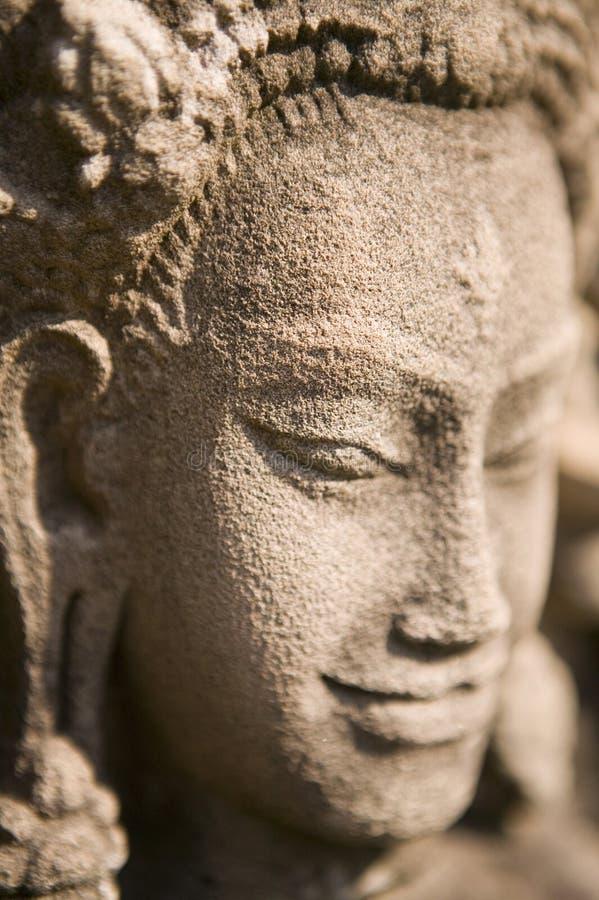 Cavamento de pedra em Cambodia. fotos de stock