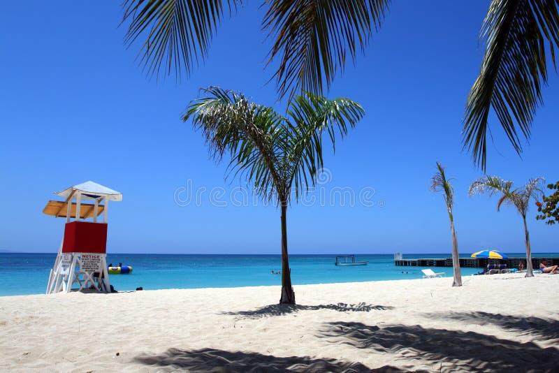 cave Beach,蒙特哥贝,牙买加医生的 库存照片