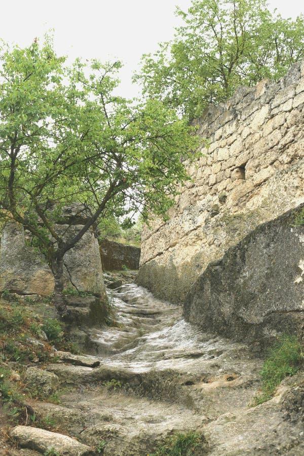 Download Cave City Chufut-Kale Bakhchisaray Stock Photo - Image: 83715758